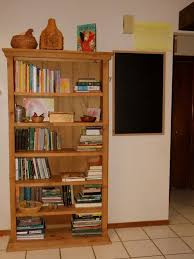 Furniture Outstanding Diy Wooden Pallet Bookshelf In Wall With