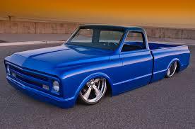 1968 Chevy Truck Custom Flat Blue | GreatTrucksOnline