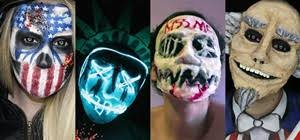 The Purge God Mask Halloween by Warning The Purge Is Coming This Halloween Diy Makeup Masks For