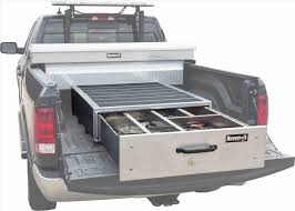 Truck Bed Storage Bed Organizer Diy In Seemly Aluminum Slideouts Suv ... Truck Bed Organizer Storage Vaults Lockers Boxes Hunt Hunter Hunting Added Decked 2017 Super 2014 Ram Promaster 1500 12 Ton Cargo Unloader Decked And System Abtl Auto Extras Adventure Retrofitted A Toyota Tacoma With Bed Drawer Welcome To Loadhandlercom Amazing The Images Collection Of Best Custom Tool Box How Build 8 Steps Pictures Lovely Pics Accsories 125648 Ideas Catch New Car Models 2019 20 Accessory Work Truck Organizer Utility Products Magazine Top Reviews