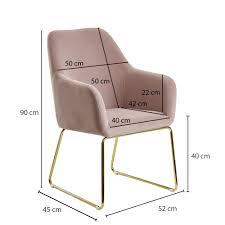 wohnling esszimmerstuhl samt rosa küchenstuhl mit goldenen beinen schalenstuhl stoff metall design polsterstuhl esszimmer stuhl gepolstert