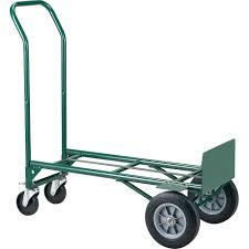 Hand Truck Metal Dual Purpose Solid Wheels Hand Trucks / Dolly ...