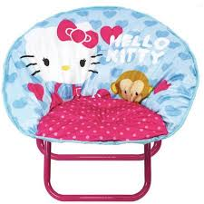 hello kitty mini saucer chair walmart com