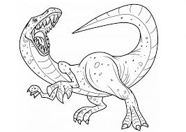 Dinosaur Coloring Pages And Books