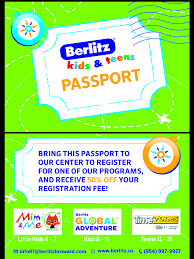 LIKE Us On Facebook & Enter For A Coupon Code For Berlitz ...