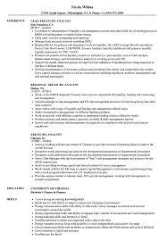 Treasury Analyst Resume Samples Velvet Jobs Rh Velvetjobs Com Supervisor Examples