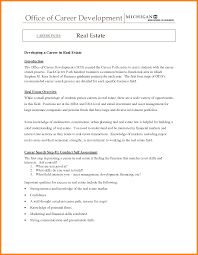 Awesome Collection Of Entry Level Real Estate Agent Resume Great Sample