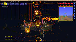 Pumpkin Moon Terraria by Challenge The Engineer Playthrough Page 4 Terraria Community