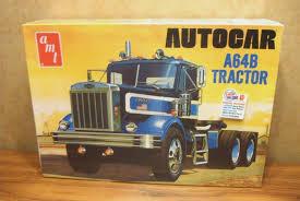 AMT AUTOCAR A64B Tractor 1/25 Scale Model Truck Kit - $41.99 | PicClick