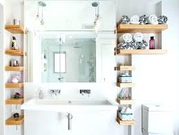 Elegant Floating Shelves Bathroom Or With Wood