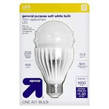 light bulb led general purpose soft white 100 watt up up