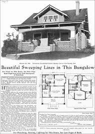 Craftsman Style Floor Plans Bungalow by 1918 Gordon Van Tine Model No 531 Classic Craftsman Style