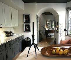 couleur armoire cuisine du contraste dans la cuisine maison et demeure