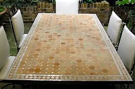moroccan mosaic furniture