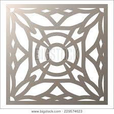 Paper Cutting Designs Template Love Mandala By Cuts