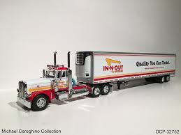 100 In N Out Burger Truck Diecast Replica Of Peterbilt 389 DCP 3275 Flickr