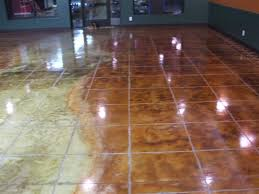 staining tile floors on floor for countryside concrete inc