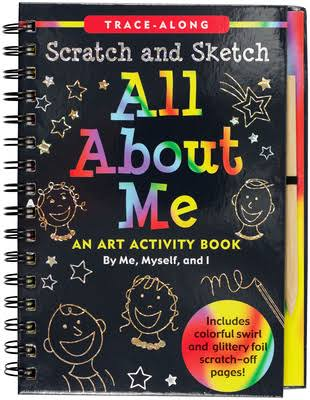 Scratch & Sketch All About Me: Trace Along [Book]