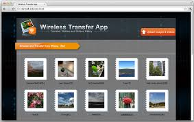 Wifi Transfer between iPad and puter