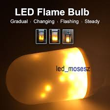 free shipping led burning light flicker led light bulb