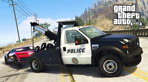 100 Gta Tow Truck GTA 5 Mods PLAY AS A COP MOD GTA 5 Police Ing Super