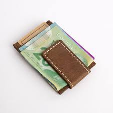 money clip card holder tribe leather wallets and small leather