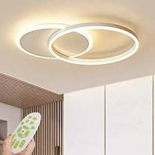 led deckenleuchte moderne dimmbare wohnzimmerle ring