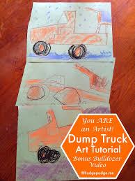 100 Hodge Podge Truck Dump Chalk Art Tutorial Podge