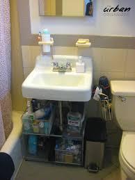 Bed Bath And Beyond Bathroom Floor Cabinet by Brigit Reclaimed Her Bathroom The Urban Organizer