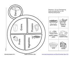 Classroom Freebies Free Food Group Plate Printable
