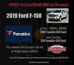100 Pickem Up Truck Store March Madness Pick Em McLarty Ford Texarkana