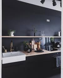 schwarze küche inspiration für den küchentrend bei