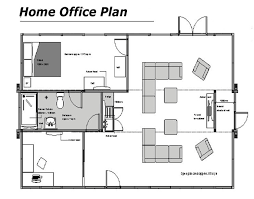 Home fice Floor Plan Style