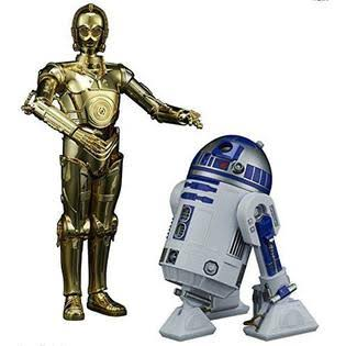 Bandai Star Wars The Last Jedi C 3PO and R2 D2 Model Kit - Scale 1:12