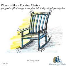 Worry Is Like A Rocking Chair - You... - Olathe Community Of Christ ... Worrying Is Like A Rockin Quotes Writings By Salik Arain Too Much Worry David Lindner Rocking 2 Rember C Adarsh Nayan Worry Is Like A Rocking C J B Ogunnowo Zane Media On Twitter Chair It Gives Like Sitting Rocking Chair Gives Stock Vector Royalty Free Is Incourage You Something To Do But Higher Perspective Simple Thoughts Of Life 111817