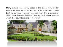 Benefits of Luxury Retirement Homes
