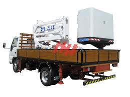 100 Truck Mounted Boom Lift Hoeheng
