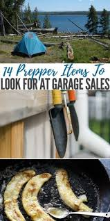 14 Prepper Items To Look For At Garage Sales Survival
