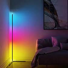 qjuzo led stehle dimmbar mit fernbedienung 20w stehleuchte für wohnzimmer schlafzimmer farbwechsel lichtsaeule rgb farbtemperaturen und helligkeit