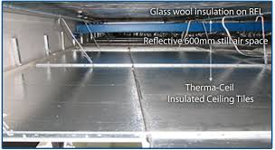 drop panel thermal insulation suspended ceiling insulation drop
