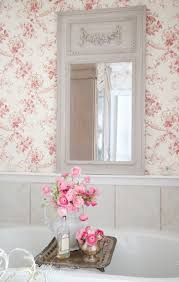 Simply Shabby Chic Curtains Pink by Best 25 Shabby Chic Wallpaper Ideas On Pinterest Floral Painted