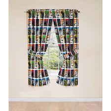 Kitchen Curtains At Walmart by Star Wars Classic Window Drapes Set Of 2 Walmart Com