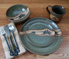 Rustic And Western Themed Dinnerware Sets