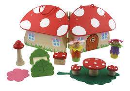 Fairy Toadstool Playset | Goldfish ToyShop Red Toadstool Table Masquespacio Designs Adstoolshaped Fniture For Missana Mushroom Kids Stool Uncategorized Chez Moi By Haute Living Propbox Event Props Fniture Hire Dublin How To Make A Bistro Set Garden In Peterborough Swedish Woodland Robins Floral Side Magentarose Toadstools Fairy Garden