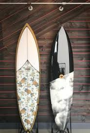 Decorative Surfboard With Shark Bite by 3 Foot Horizontal Sharkbite Red Vintage Surfboard Wall Art Solid