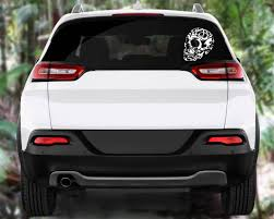 100 Cool Decals For Trucks Tribal Skull Decal Tribal Cliparttribal Stickersaztec Etsy