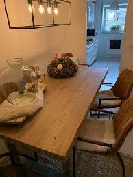 esszimmertisch tisch plus 6 stühle baumkante