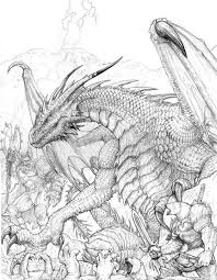 Dragon Coloring For Adults