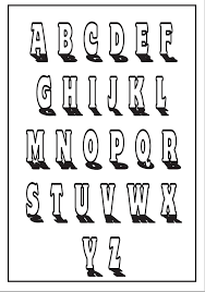 Free Printable Alphabet Letters For The Classroom Different