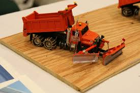 100 Rc Truck With Plow International S1900 Snow Plow Truck Custom Farm Toys Model